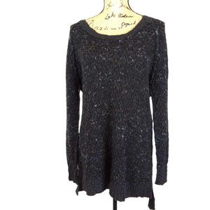 Free People Oversized Boucle Sweater-N1207